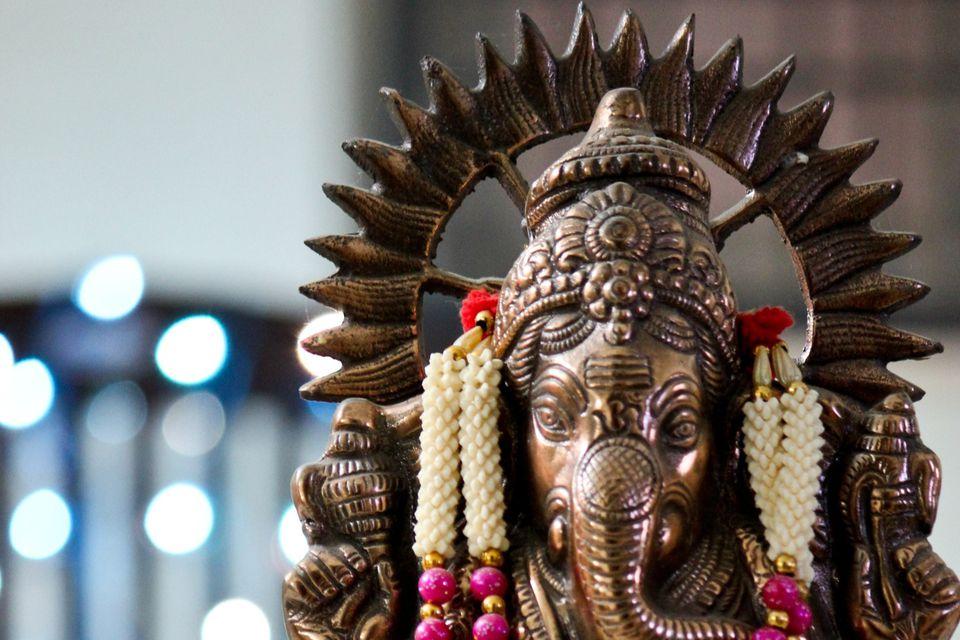 Bronze Ganesh.