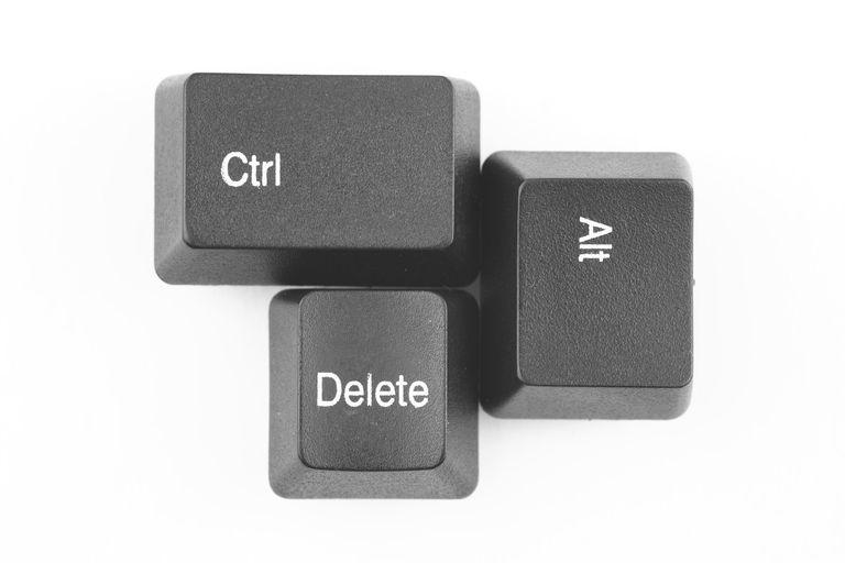 Image of Ctrl-Alt-Del Keys