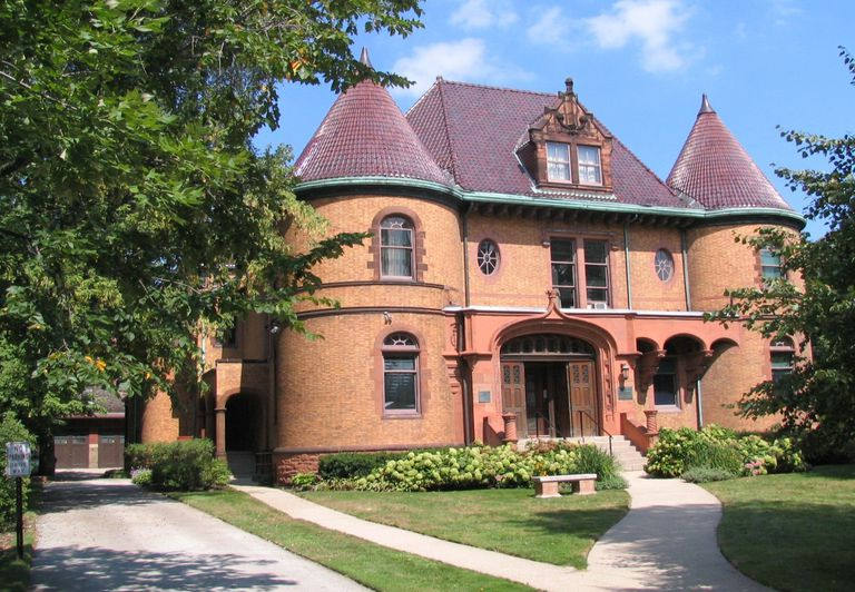 Chateauesque Charles Gates Dawes House 225 Greenwood St Evanston Illinois