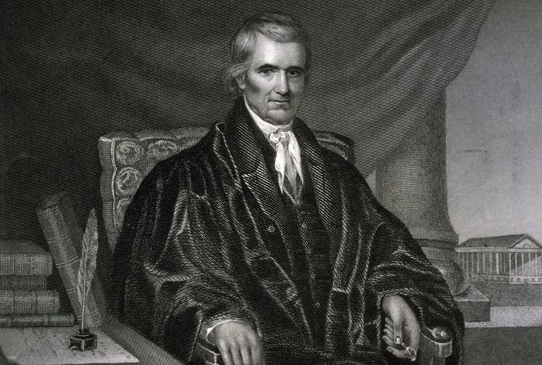 Chief Justice John Marshall, U.S. Supreme Court