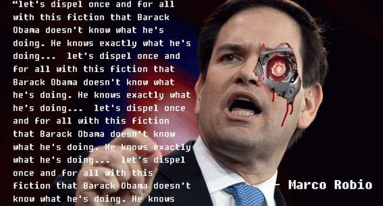 Marco Rubio Robot