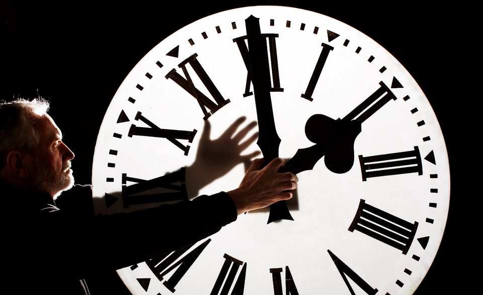 When is the next time change falling into or out of Daylight Saving Time?