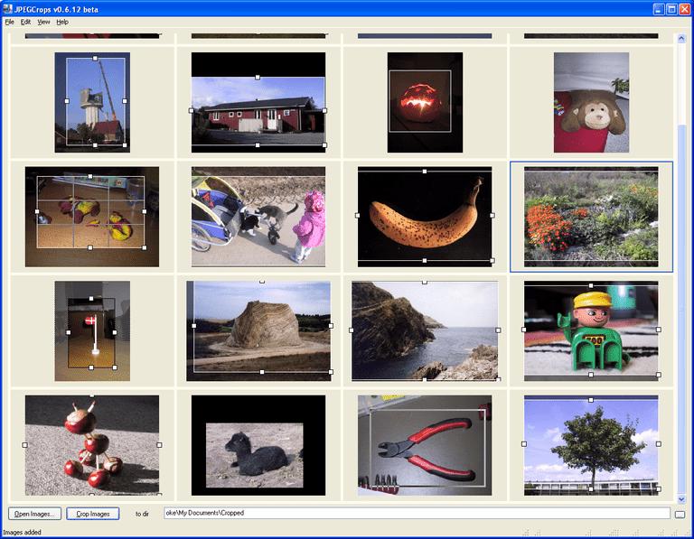 JPEGCrops 0.6.12 Beta