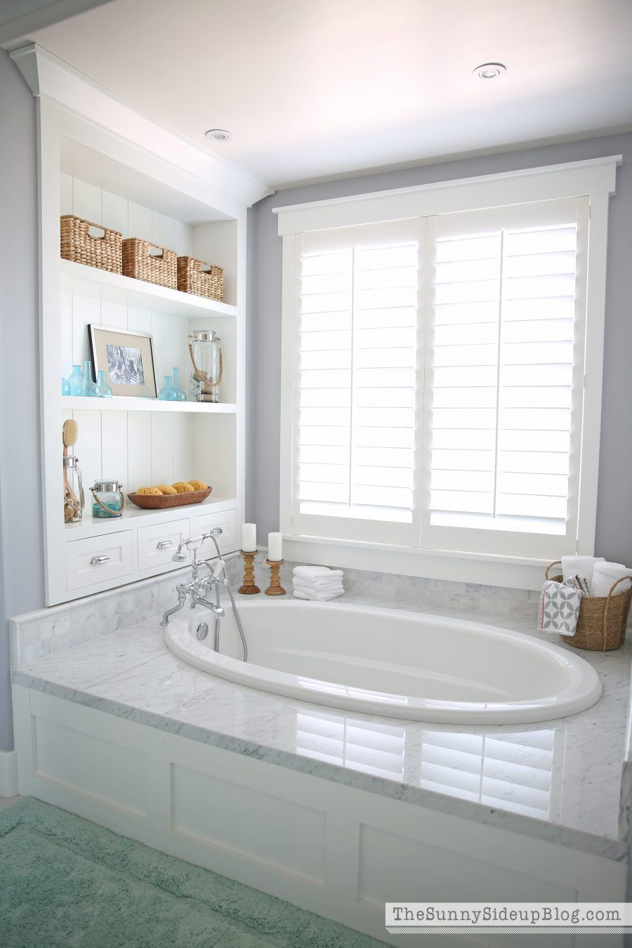 bathroom remodel idea: tub surround