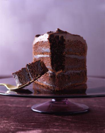 Gluten-free German chocolate cake