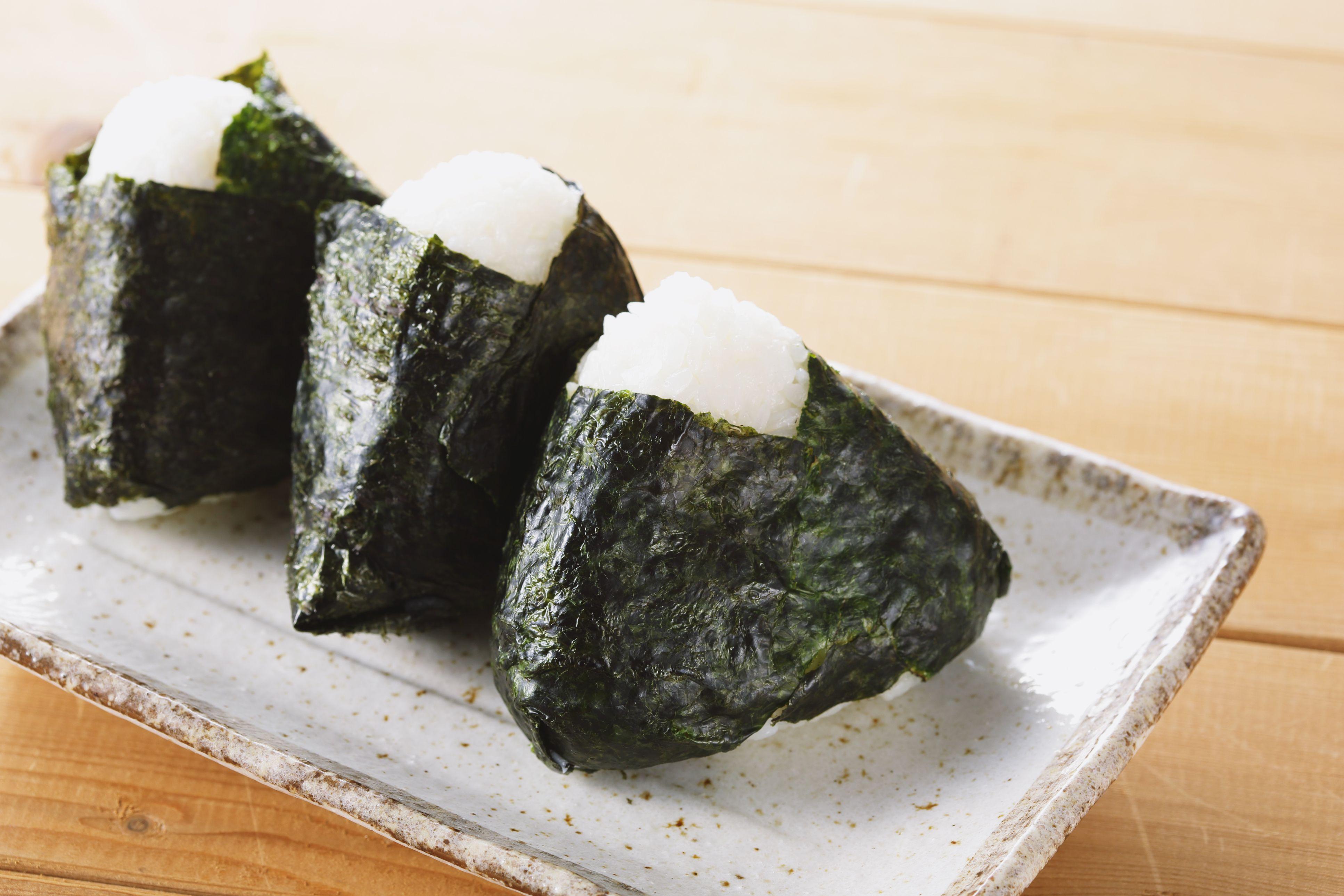 Karashi Mentaiko Onigiri Spicy Cod Roe Rice Ball