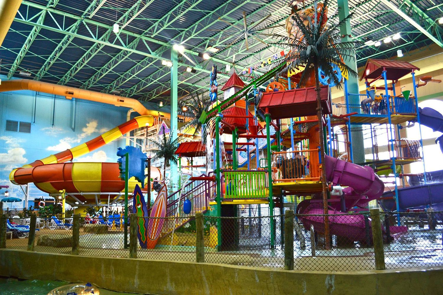 Indoor Water Parks in Illinois