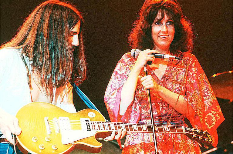 Jefferson Starship perform on stage, New York, September 1978.