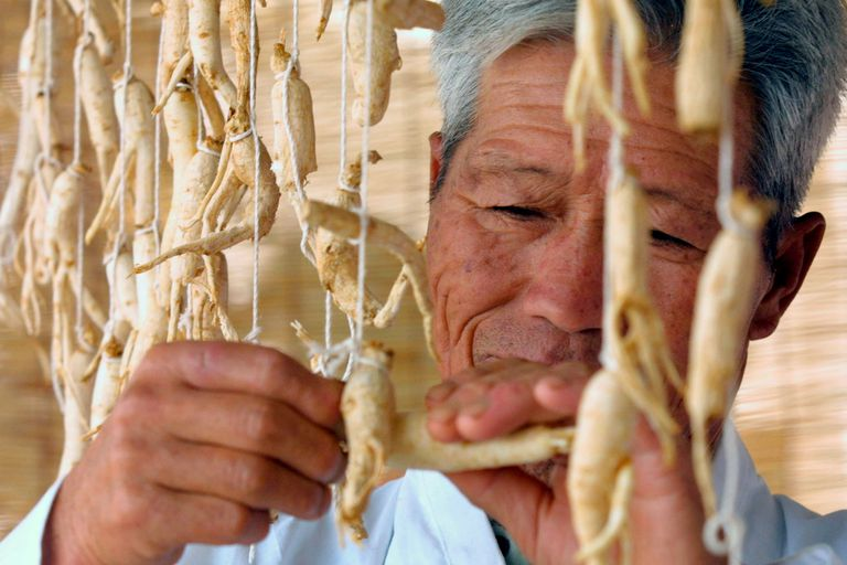 South Korean Farmers Rely On Ginseng