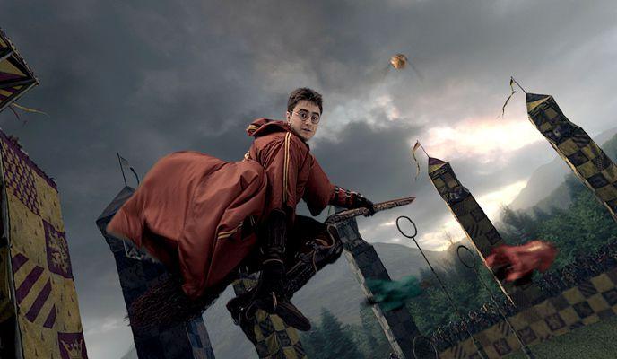 Harry Potter quidditch match