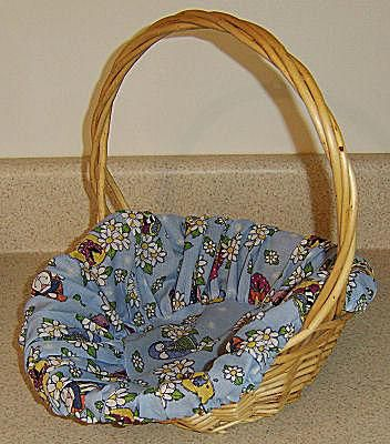 How to Sew a Basket Liner for Any Basket