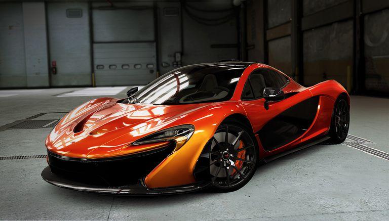 CSR2 McLaren Volcano Orange