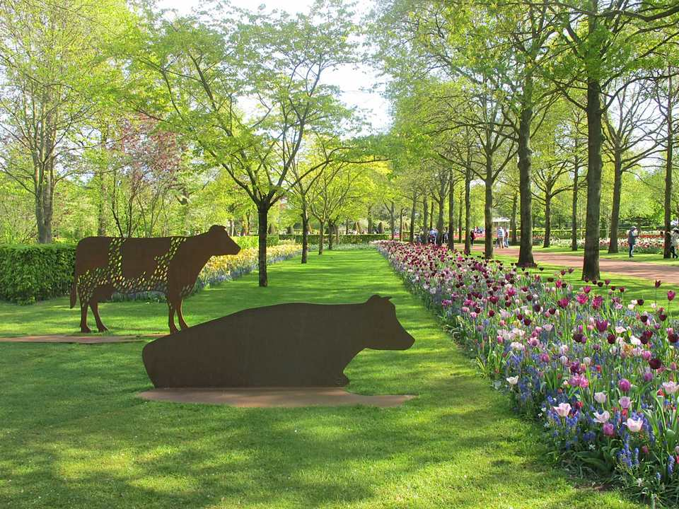 spring Keukenhof Gardens