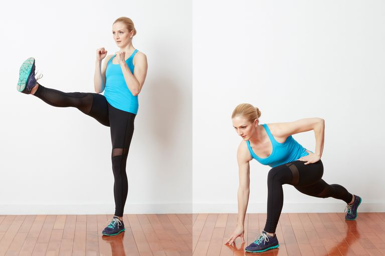 Front kick with lunge