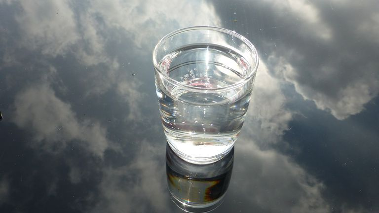 glass of water, water for weight loss