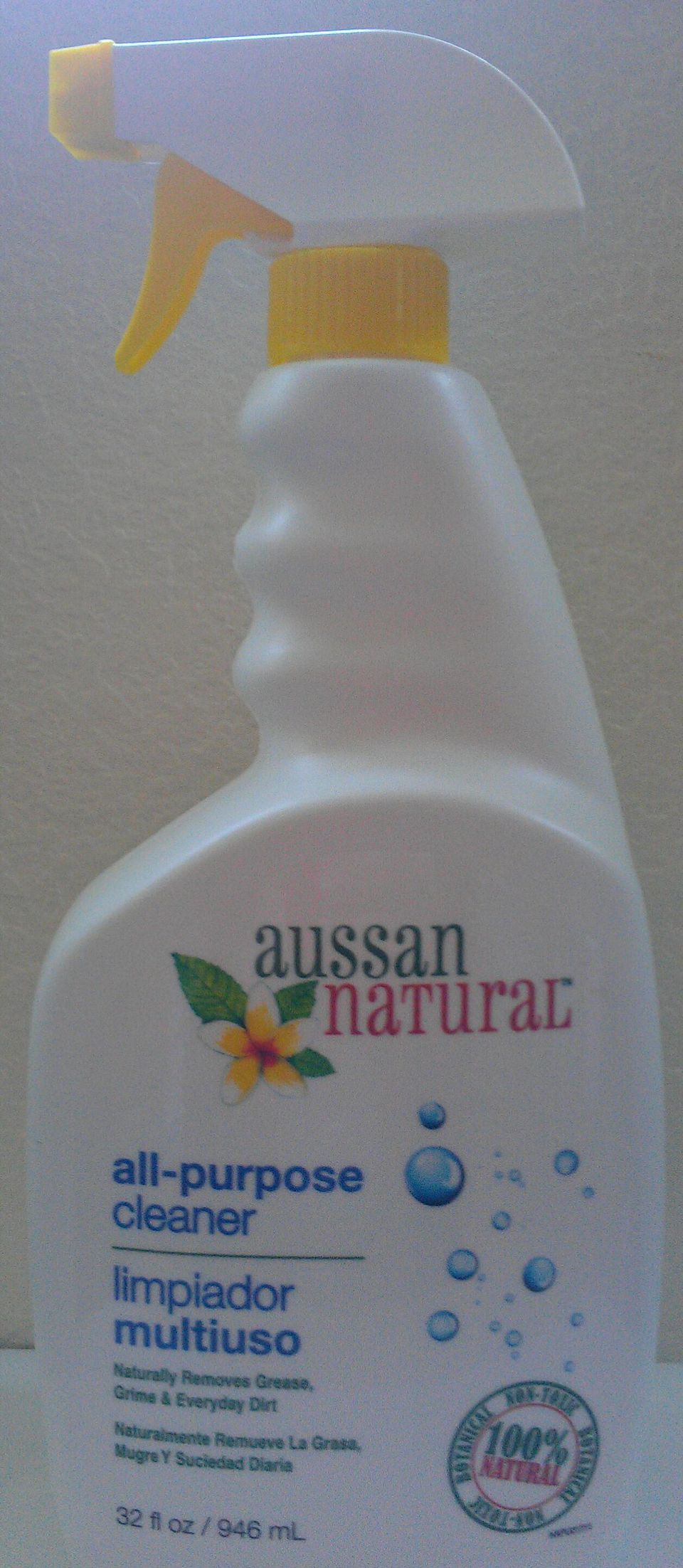 Aussan's Natural All-Purpose Cleaner Cleans Stainless Steel