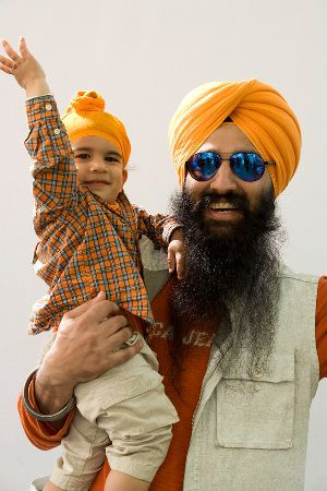 Modern Sikh Tall and Small