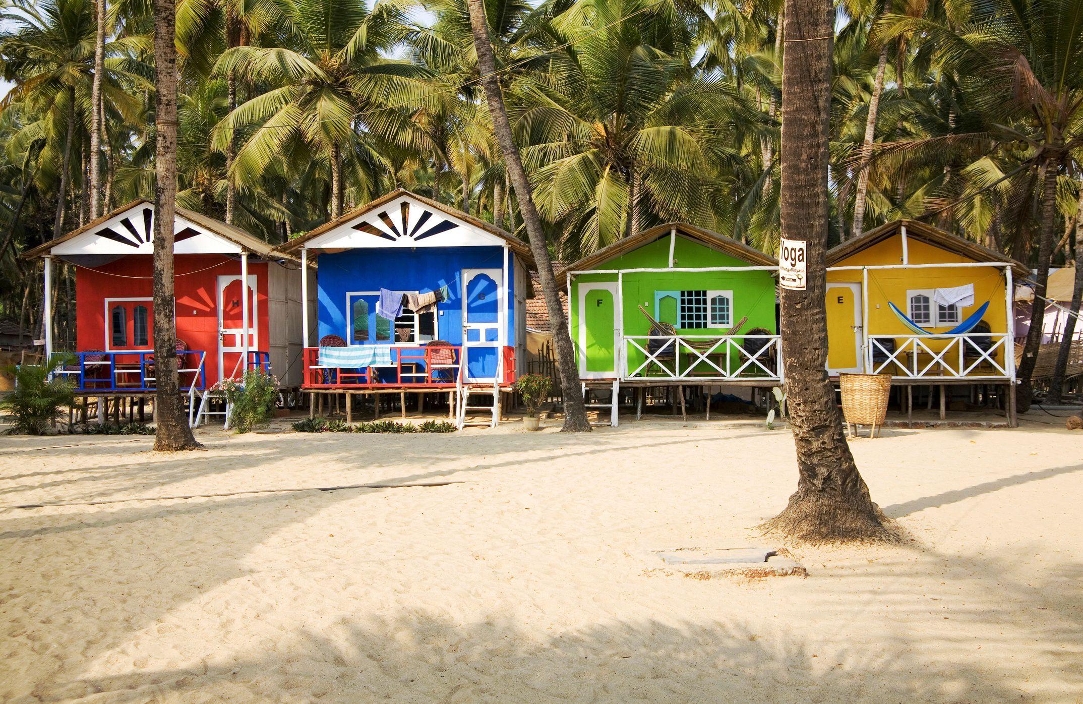 Beach Africa Huts