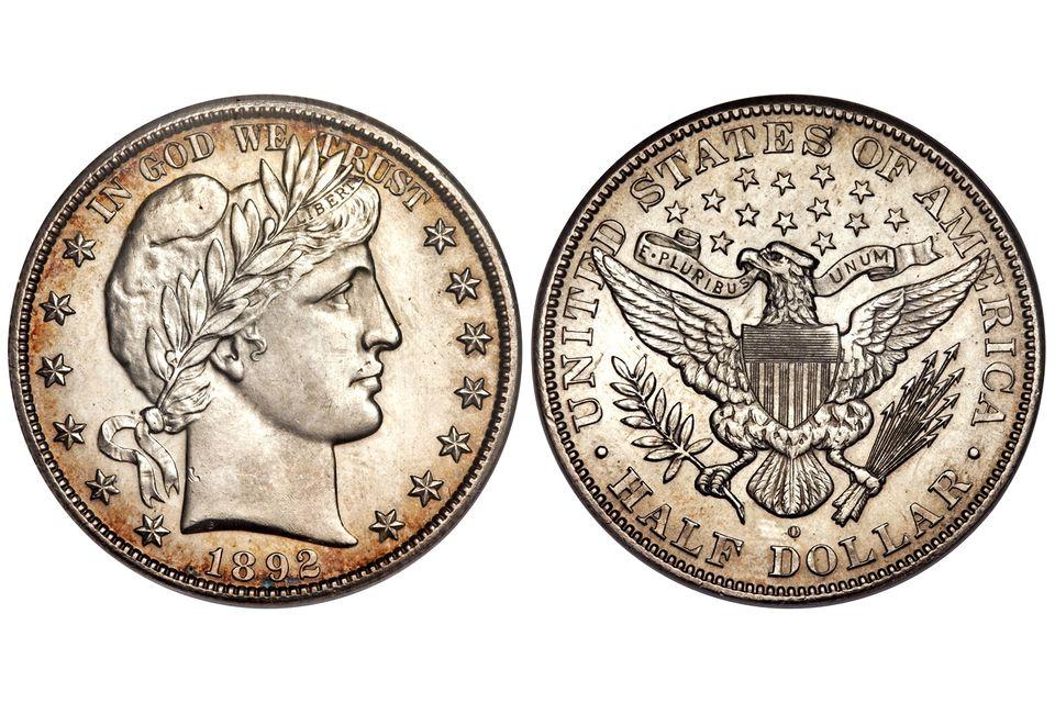Barber Half-Dollar (1892-1915)
