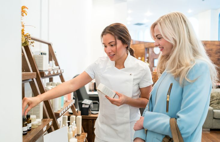 Choosing skin care products