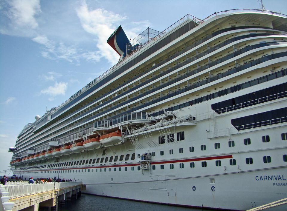 Carnival Dream calls at Cozumel, Mexico.