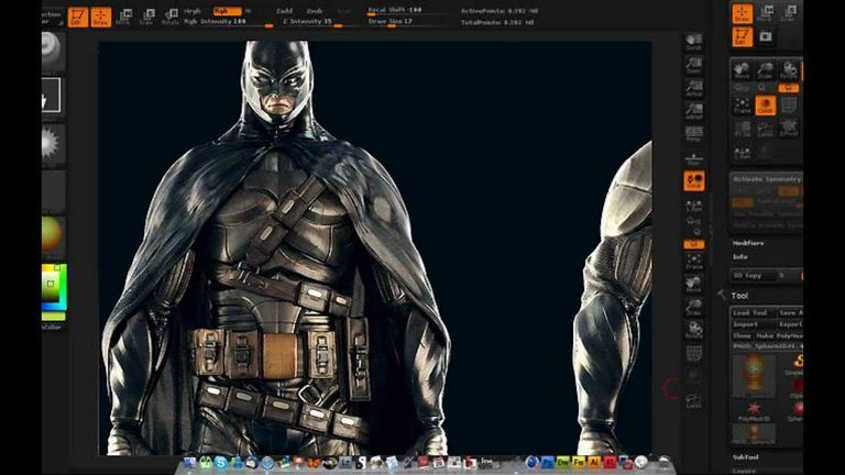 ZBrush screen shot