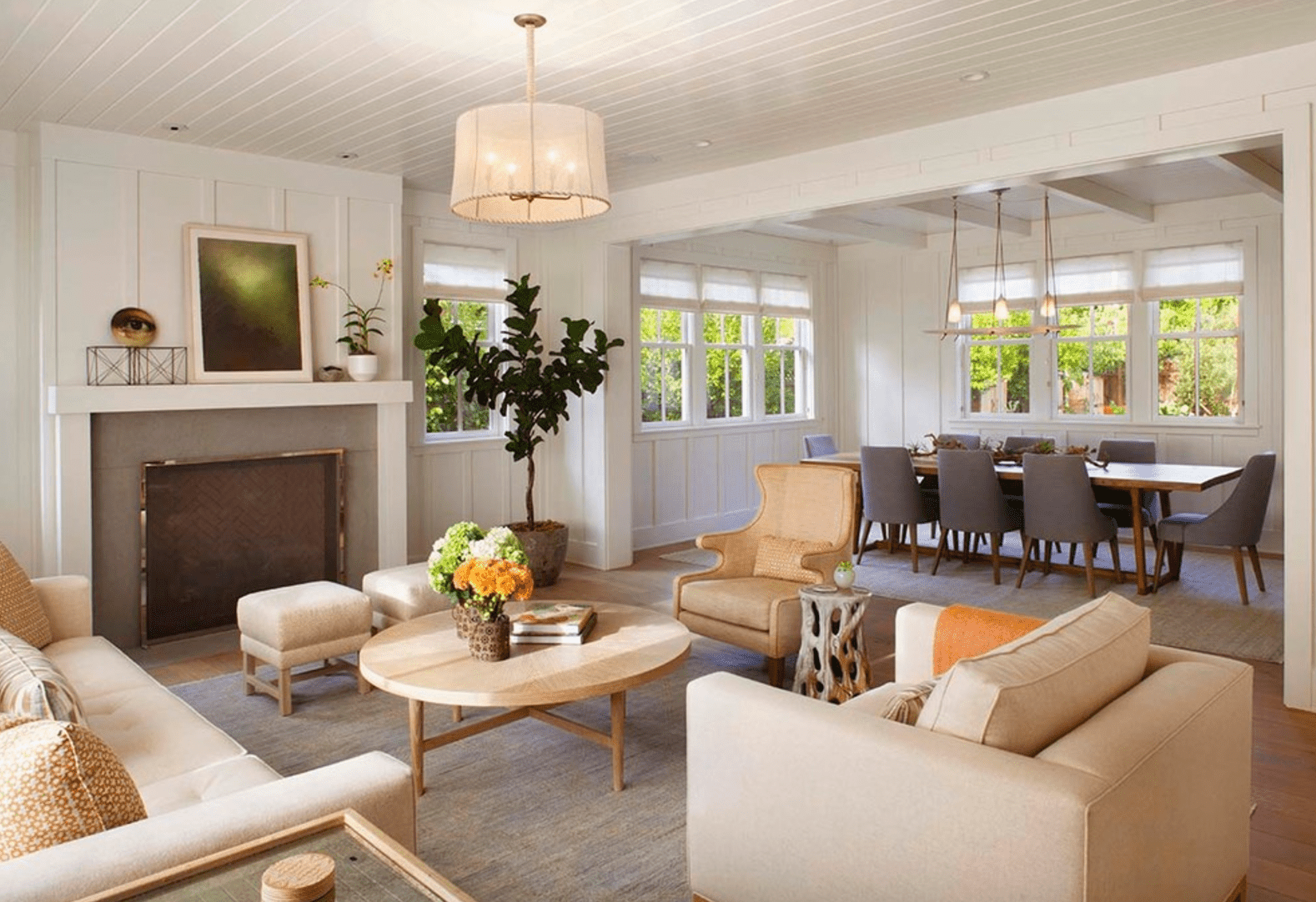 Modern farmhouse living room - Modern Farmhouse Living Room 38