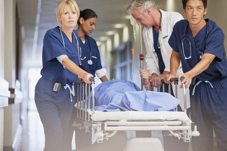 emergency room professionals
