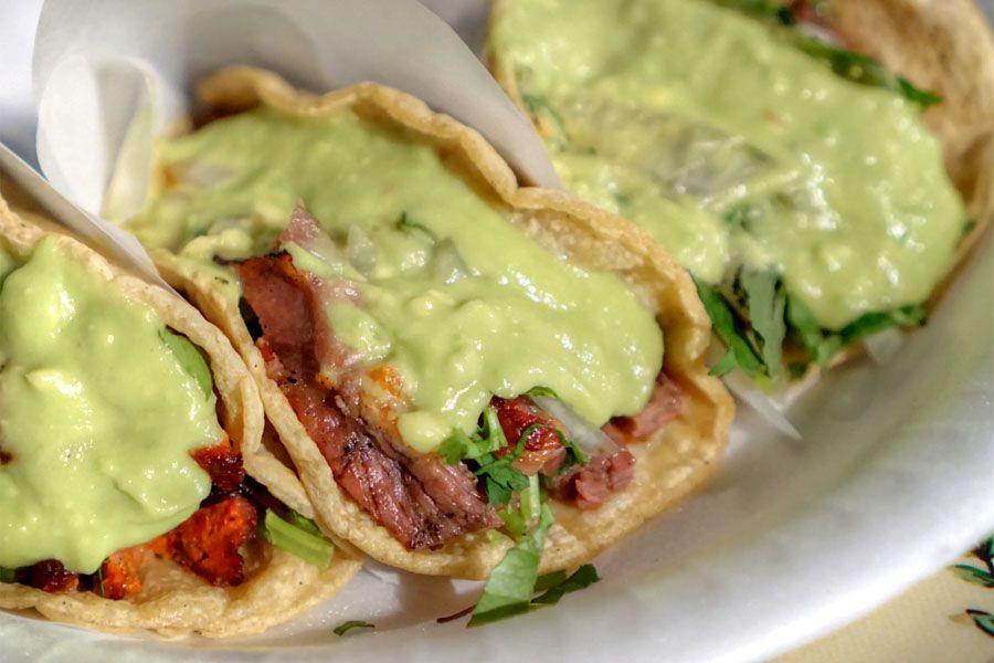 Tacos from Tire Shop Taqueria