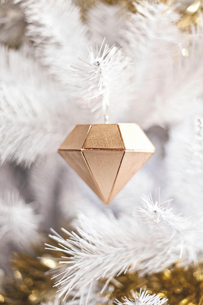 DIY Diamond Ornament