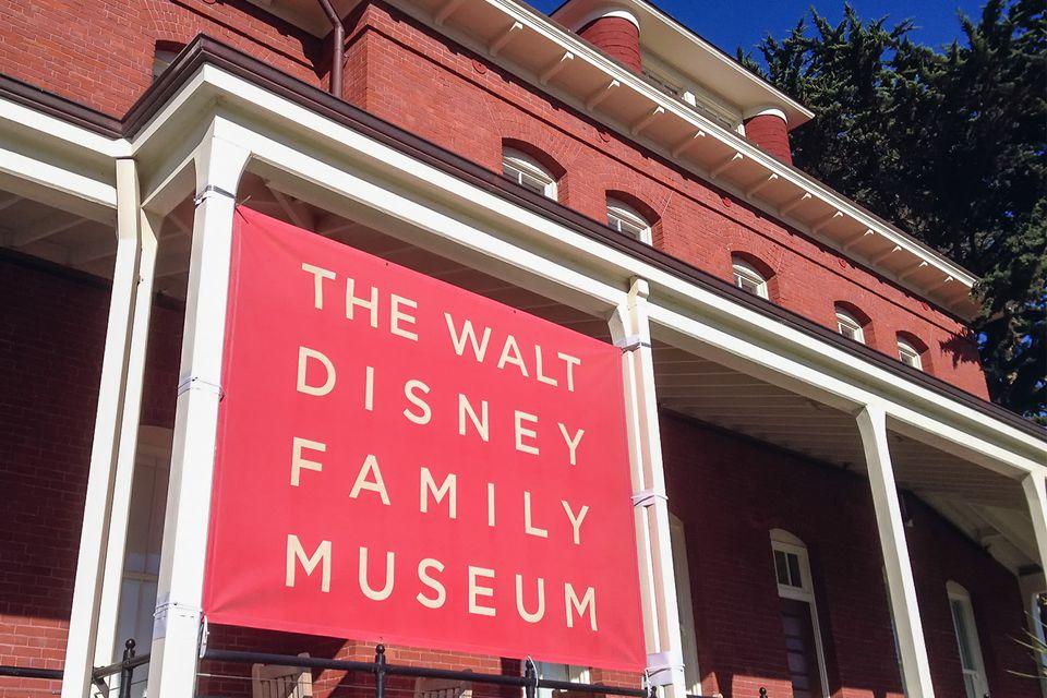 Walt Disney Family Museum in Presidio San Francisco