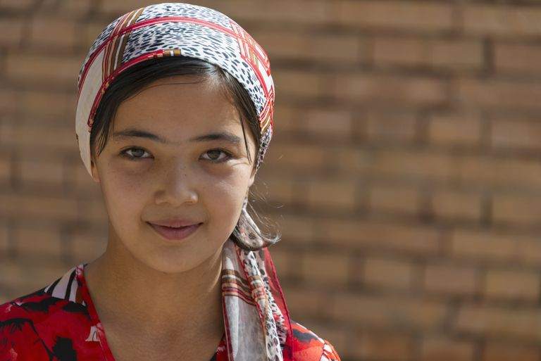Young Uighur woman in Kashgar