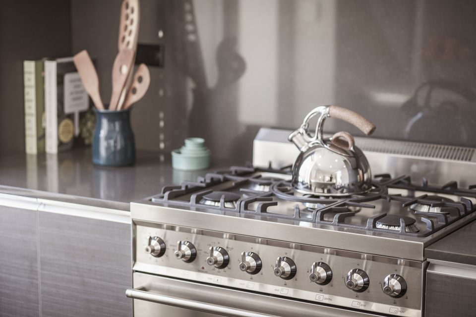 Stainless steel kitchen appliance