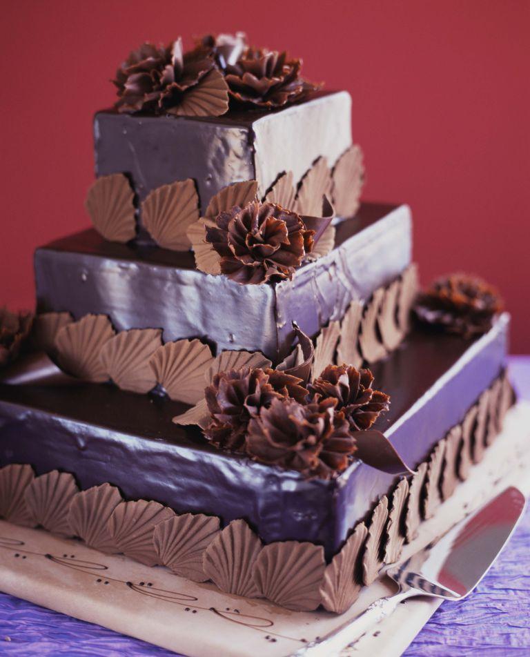 Fabulosas ideas para pasteles de boda otoñales.