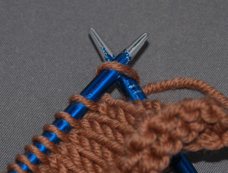 Knitting Yfwd Psso : Skp decrease slip knit pass slipped stitch over