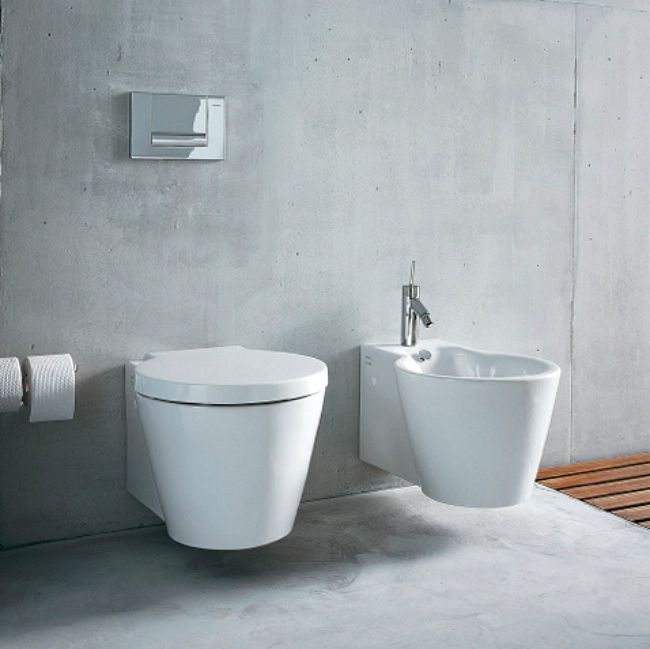 toilets for small bathrooms. The Starck 1 toilet and bidet 8 Wall Mounted Toilets for Tiny Bathrooms