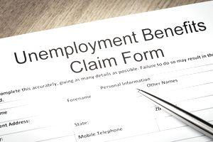 Unemployment Benefits claim form