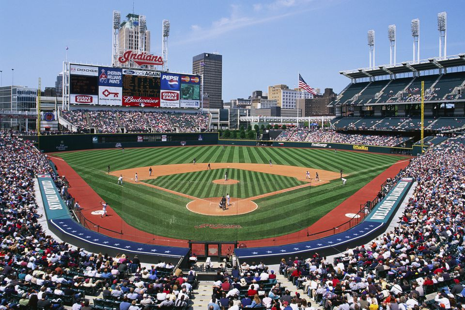 Game at Jacobs Field