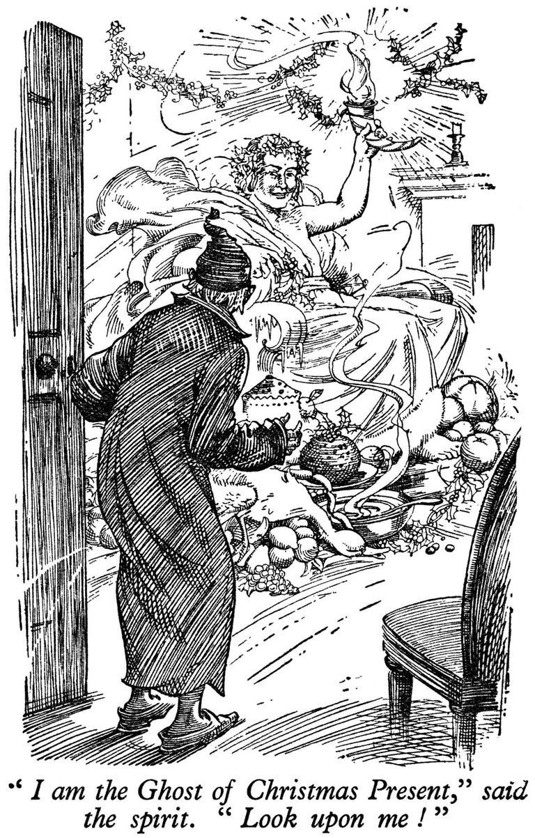 Charles Dickens' Christmas Carol - The Children's Wonder Book