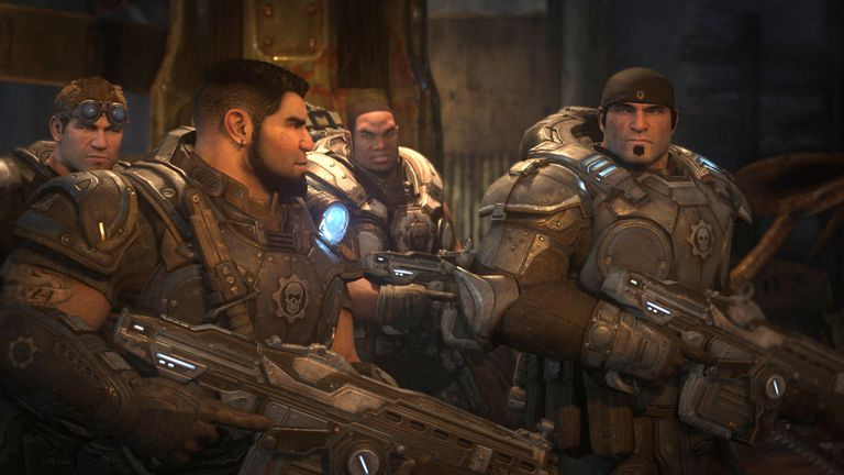 Gears of War UE screen