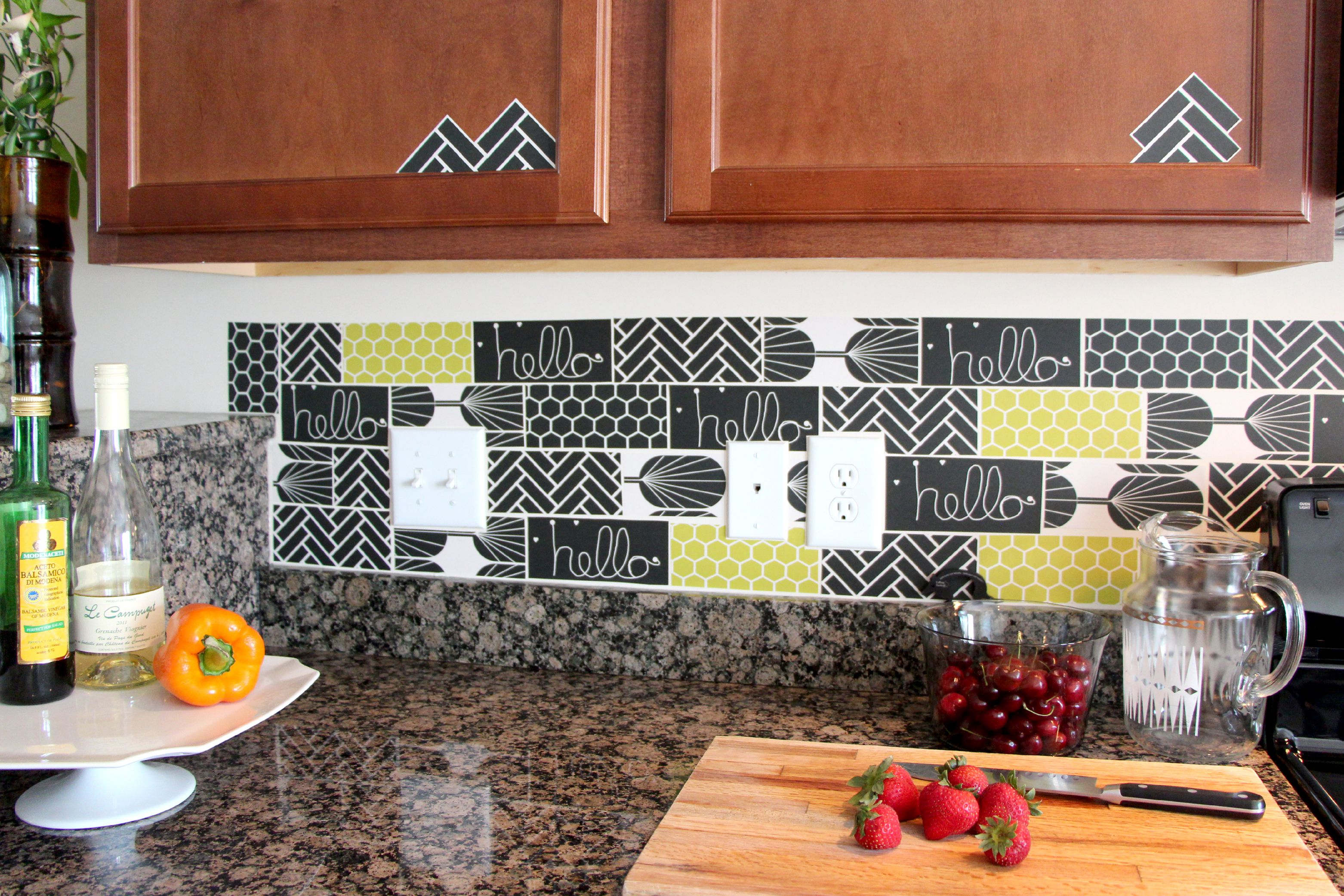 13 removable kitchen backsplash ideas dailygadgetfo Choice Image