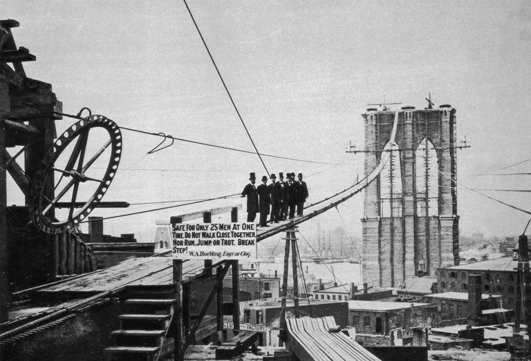 brooklyn bridge construction and history