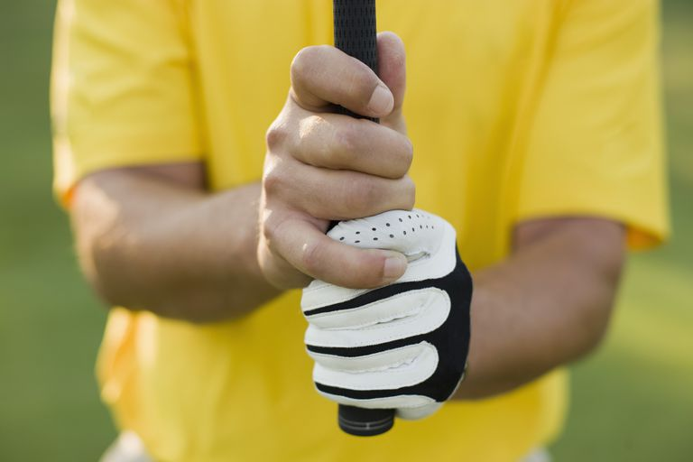 The Vardon Grip in golf, also called the overlapping grip