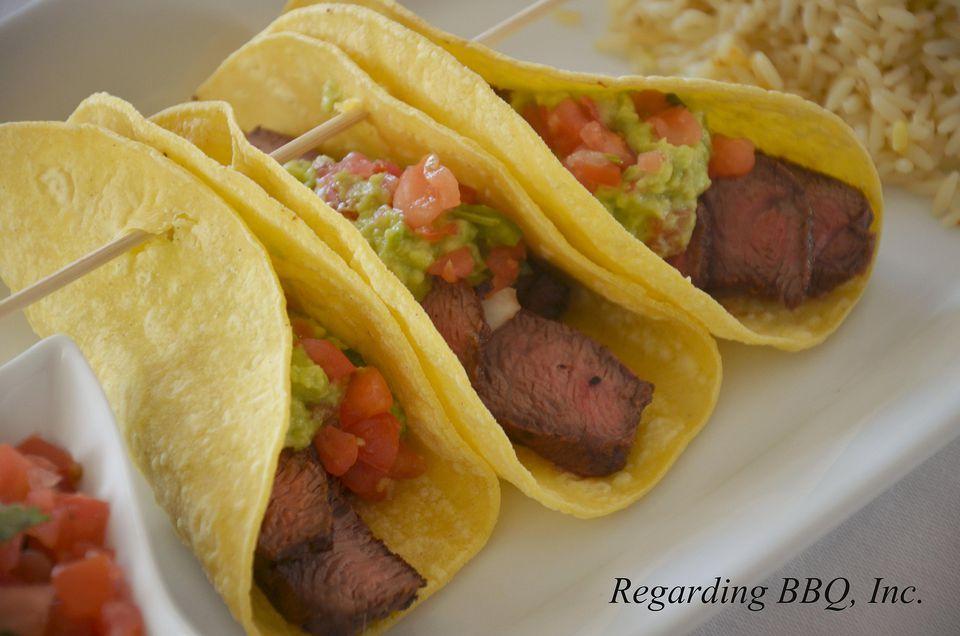 Flat Iron Steak Tacos