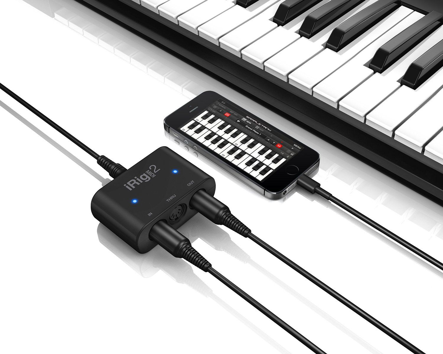 How to connect a midi controller to the ipad for Yamaha p115 midi
