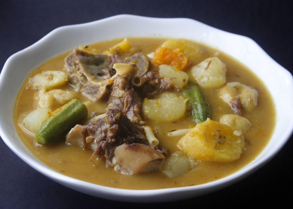 Caribbean Beef Soup