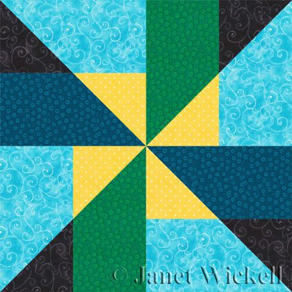Easy Scrappy Star Quilt Block Pattern