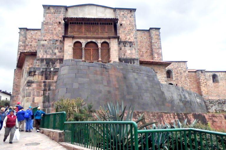 Qoricancha Temple and the Church of Santa Domingo in Cusco Peru