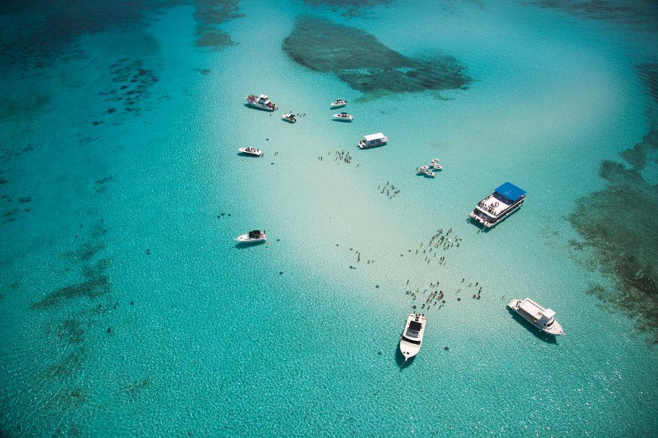 Stingray City on Grand Cayman Island