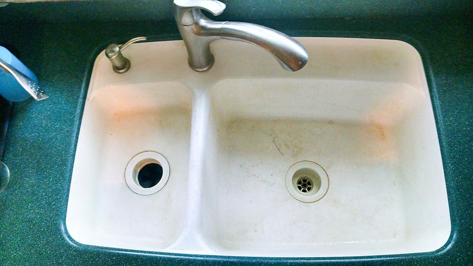 Restoring your solid surface sink for Avonite sinks